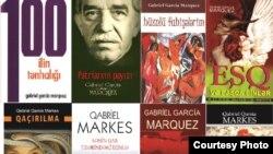 Azərbaycan, Gabriel Garcia Marquez-in Azərbaycan dilinə çevirilmiş əsərləri