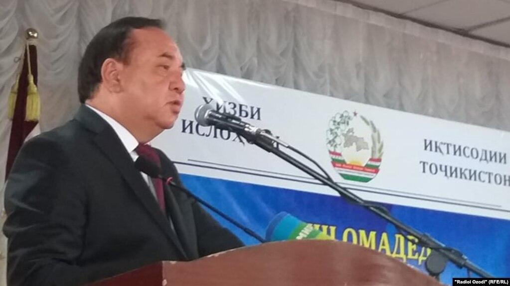 Рустам Рахматзода назван кандидатом в президенты от Партии экономических  реформ Таджикистана