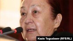 """Нина Каюпова, председатель общественного объединения """"Республиканский совет женщин"""""""