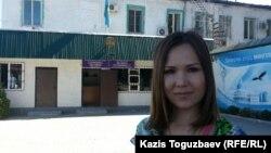 Алия Турусбекова, жена находящегося в заключении оппозиционного политика Владимира Козлова.