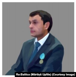MXX zobiti, Interpolning O'zbekistondagi sobiq rahbari Yuriy Savinkov. (Rassom Martinsh Upitis)