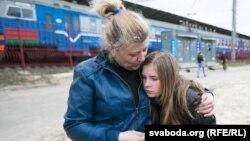 Ілюстраційне фото. Сім'я переселенців з Луганську