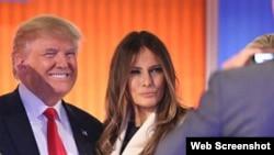 Donald və Melania Trump