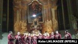 """ანსამბლ """"რუსთავის"""" კონცერტი წმინდა სიმონისა და იუდას ეკლესიაში"""