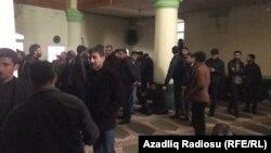 «Hacı Cavad» məscidi. 12 aprel 2017