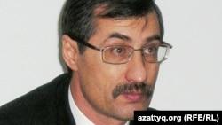 Құқық қорғаушы Евгений Жовтис. Алматы, 10 ақпан, 2010 жыл.
