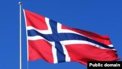Норвегияның туы. (Көрнекі сурет)