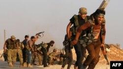 Повстанцы Сирийской свободной армии. Иллюстративное фото.