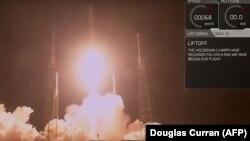 Запуск ракеты Falcon 9са спадарожнікам Zuma, 7студзеня 2018 году