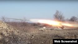Бойовики продовжують обстріли з саморобних ракетних установок