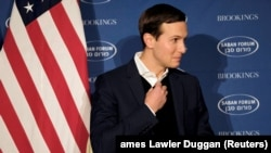 White House senior adviser Jared Kushner delivers remarks on the Trump administration's approach to the Middle East region in Washington on December 3. (file photo)