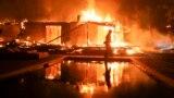В Калифорнии бушуют пожары