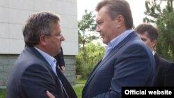 Під час однієї з попередніх зустрічей президентів України і Польщі (архівне фото)