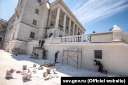Роботи з реконструкції. Фото із сайту окупаційної влади Криму
