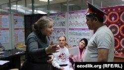 Valentina Valentinovna Chupik trening paytida