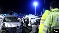 عکسی از تصادفات سال گذشته در جاده های ایران