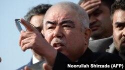 Former Afghan Vice President Abdul Rashid Dostum (file photo)