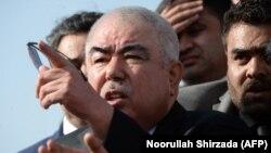 عبدالرشید دوستم معاون اول پیشین رئیس جمهوری افغانستان