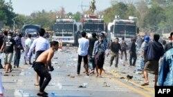 اعتراضهای ضد حکومت نظامی در میانمار