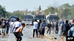 Протести против воениот удар во Мјанмар