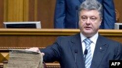 Ուկրաինայի նորընտիր նախագահի երդմնակալությունը, 7-ը հունիսի, 2014