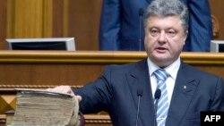 Presidenti i Ukrainës, Petro Poroshenko.