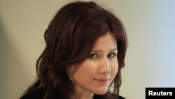 Former Russian spy Anna Chapman (file photo)