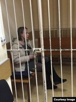Лариса Галкина в Савеловском суде. Февраль 2015 года