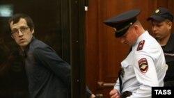 Леонид Ковязин, обвиняемый в участии в массовых беспорядках