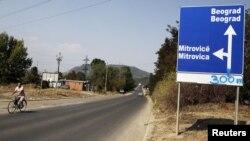 Natpis kod Mitrovice