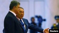 Петро Порошенко, Нурсултан Назарбаєв