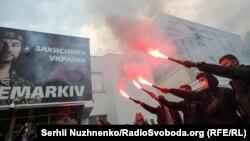 Фоторепортаж: акції на підтримку Хаєцького в Одесі та Києві