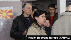 Гласање за локалните избори во Кичево.