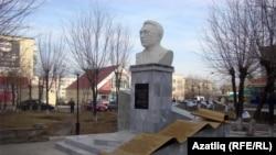 Памятник Ахмет-Заки Валиди в Сибае (Башкортостан)
