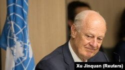 I dërguari special i OKB-së për Siri, Staffan de Mistura