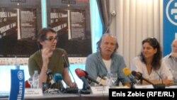 Rade Šerbedžija, Aleksandar Popovski i Lenka Udovički, Ulysses teatar, srpanj 2012.
