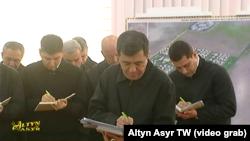 Заседание кабинета министров Туркменистана, январь, 2019