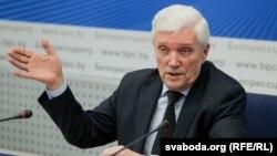 Аляксандар Сурыкаў у Менску, 7 лютага 2018 году