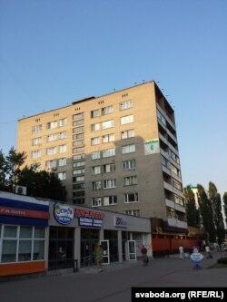 Дом на Прытыцкага, 6, дзе жыў М. Стральцоў (фота Васіля Дэ Эм)