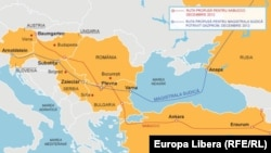 Magistralele South Stream şi Nabucco