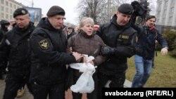 Задержания в Минске. 25 марта 2017 года