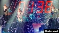 Виступ рок-гурту О.Тorvald у фіналі національного конкурсу, який представлятиме Україну на «Євробачення-2017». Київ, 26 лютого 2017 року