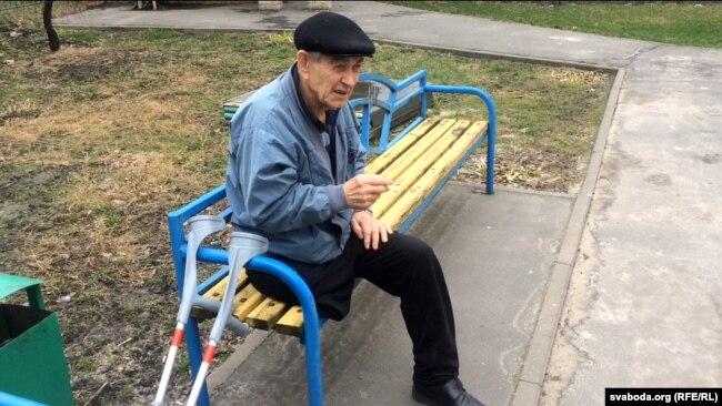 Пінскі інвалід Мікалай Крычко