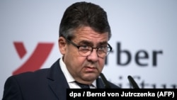 German Foreign Minister Sigmar Gabriel (file photo)