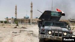 Іракські силовики в центрі Фаллуджі, фото 20 червня 2016 року