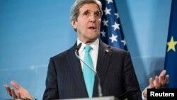Sekretari i Shteteve të Bashkuara të Amerikës, John Kerry (Ilustrim)