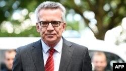 Томас де Мезьер, министр внутренних дел ФРГ.