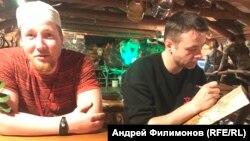 """Виталий Ильченко, Никита Бакленев (Хабаровск). Спектакль """"Времена года""""."""