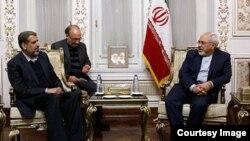 وزیر امور خارجه ایران، در دیدار با رمضان عبدالله شلح، دبیرکل سازمان جهاد اسلامی فلسطین