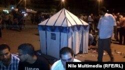 خيمة في ساحة التحرير